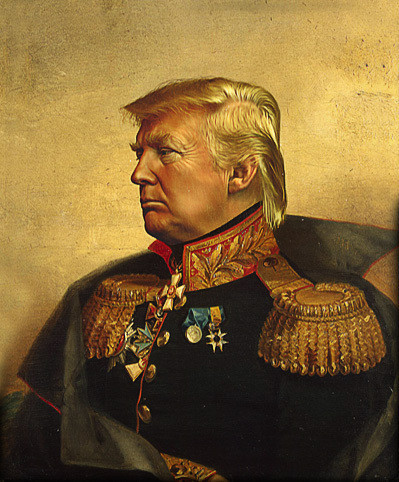 "Emperor Ronald Drumpf Formerly known as ""Eric"" and ""The Ronald"""