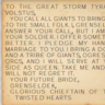 Grenseldek's note