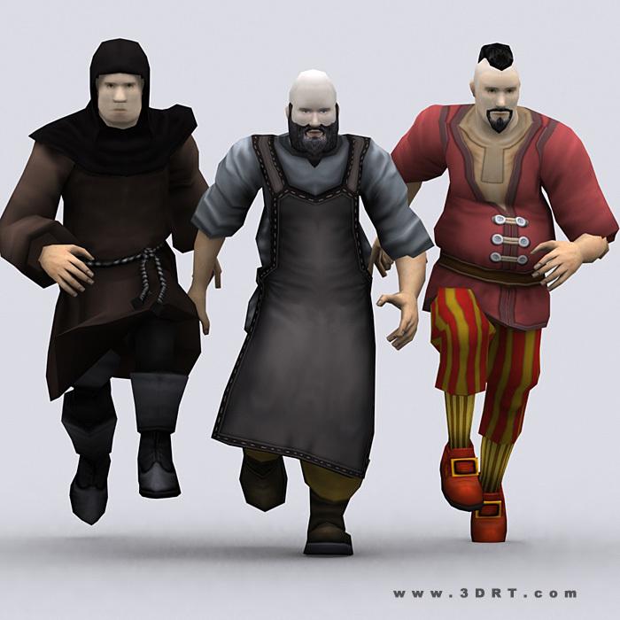 I tre fratelli Barzozzo