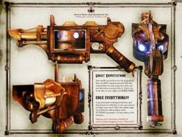 Elemental pistol