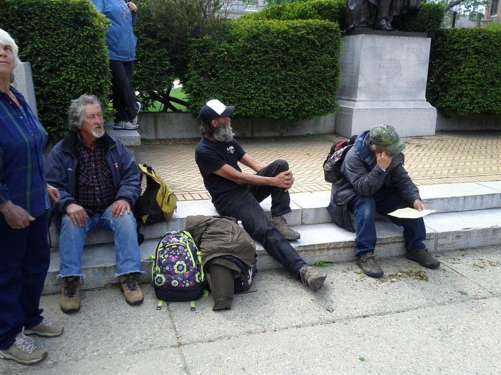 Three Homeless Men