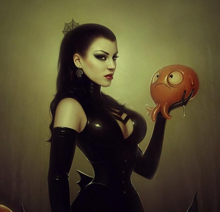 Lana die Schattenhafte