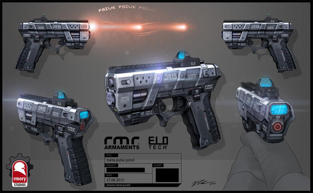 RMR 0815 (Pulse Pistol)