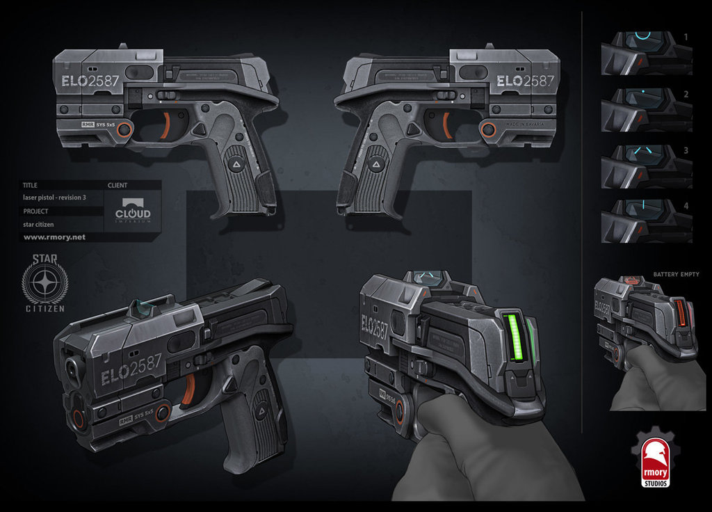 RMR ELO2587 (Laser Pistol)