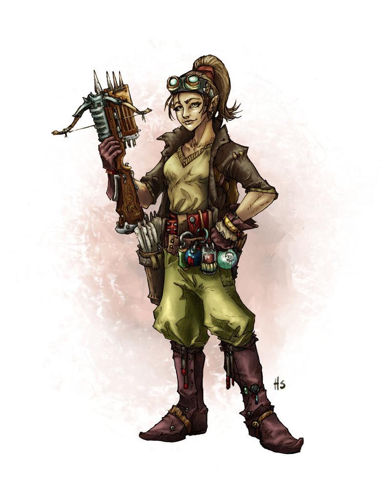 Alchemist lady