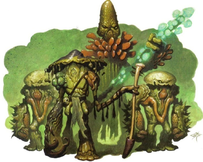 Myconid Circle Leaders