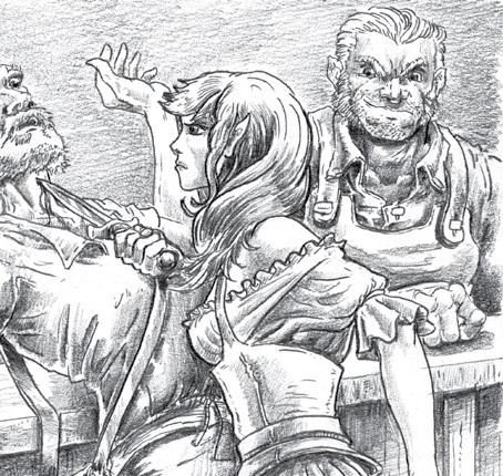 Laelia The Barmaid