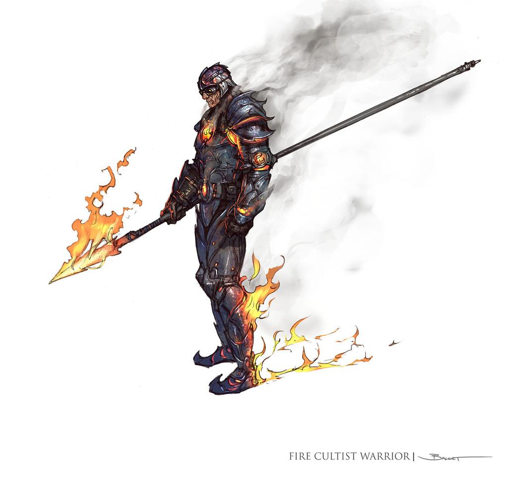 Ivor, the Fire Blackguard