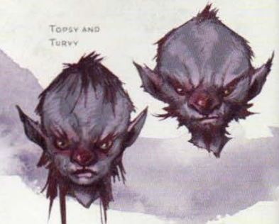 Topsy and Turvy (R.I.P Turvy)