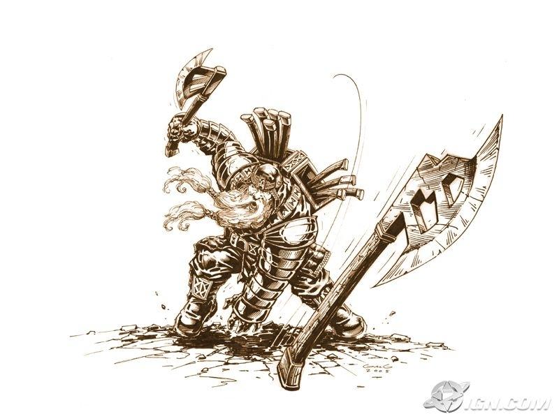 The Dwarven Fighter of Kord