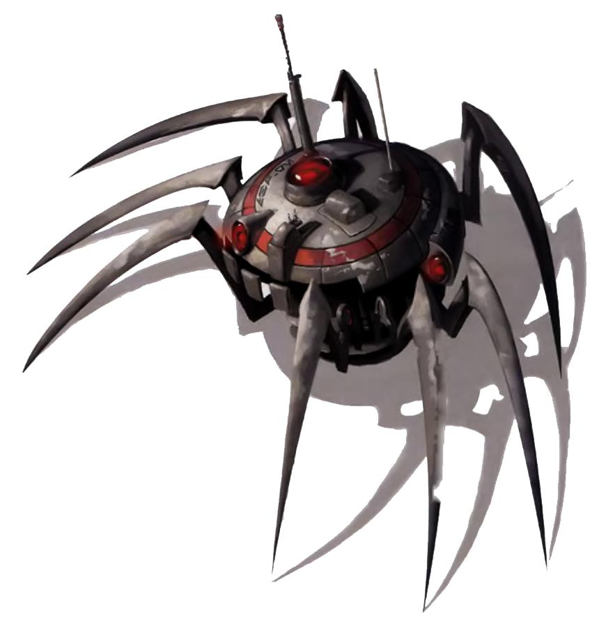 Arak-Series Spy Droid
