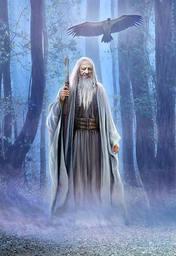 Dreitann, der Druide
