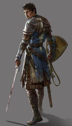 Andario, Wandering Paladin of Helm