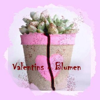 14. Blumentöpfchen vom Valentinstag
