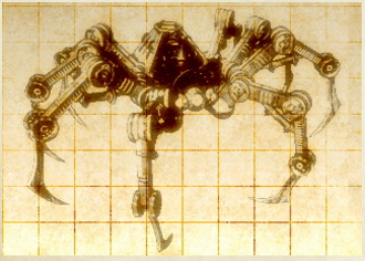 Mechanical Arachnid