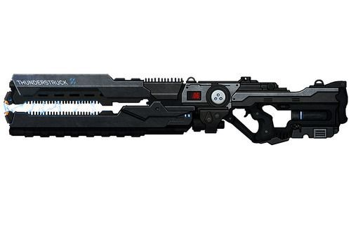 Ares Thunderstruck Gauss Rifle