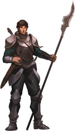 Sergeant Trystan Vorn
