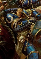Appius from the Ultramarines