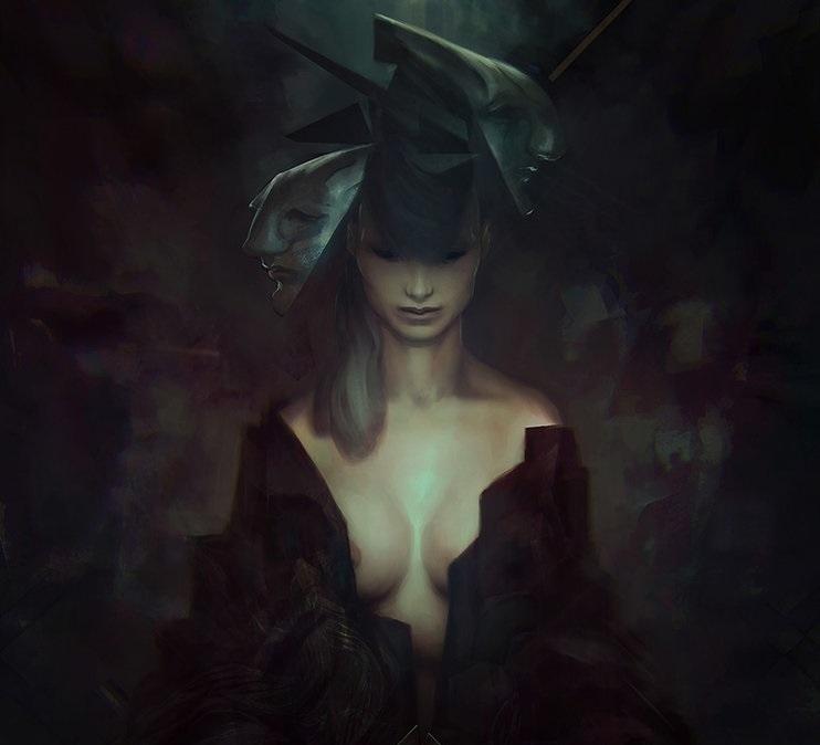 Gem: Madam Dhuma of the House Sahlak, Mistress of Visions