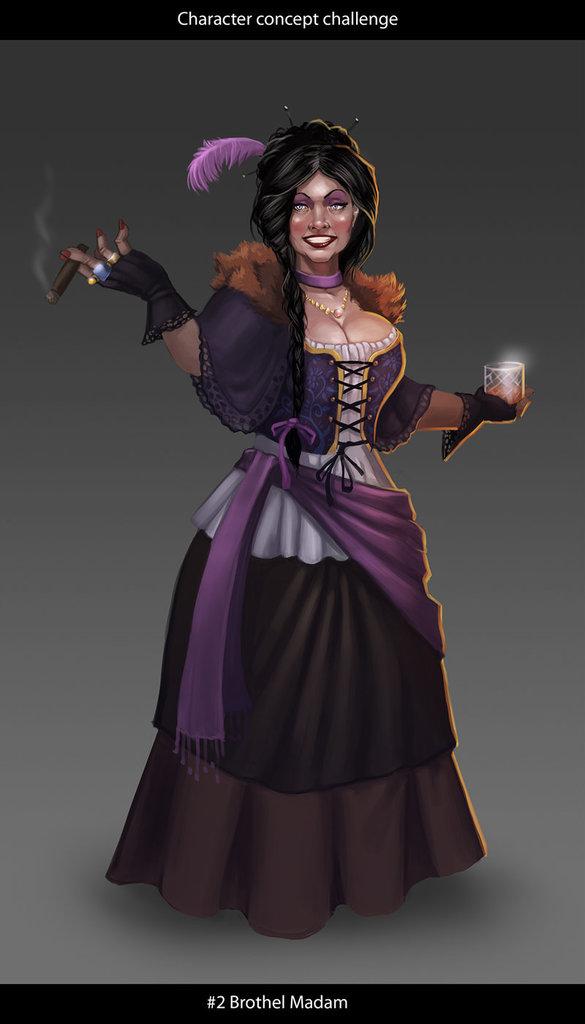 Madam Hellena Silvertongue