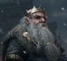 King Gadrin Bronzehammer
