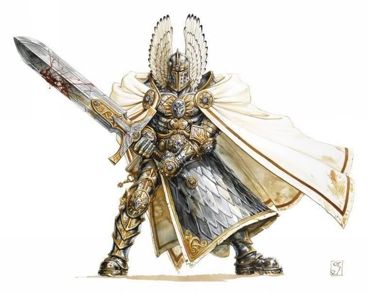 ZZ: Brother Caleb, Paladin of the Lords of Light