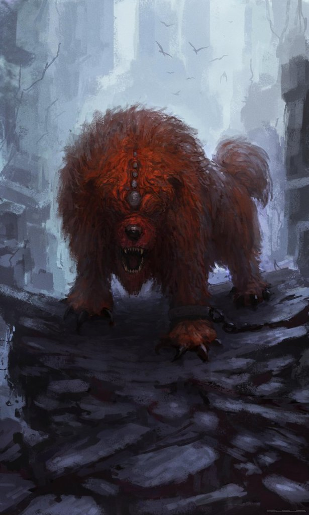 Thild's doggo form