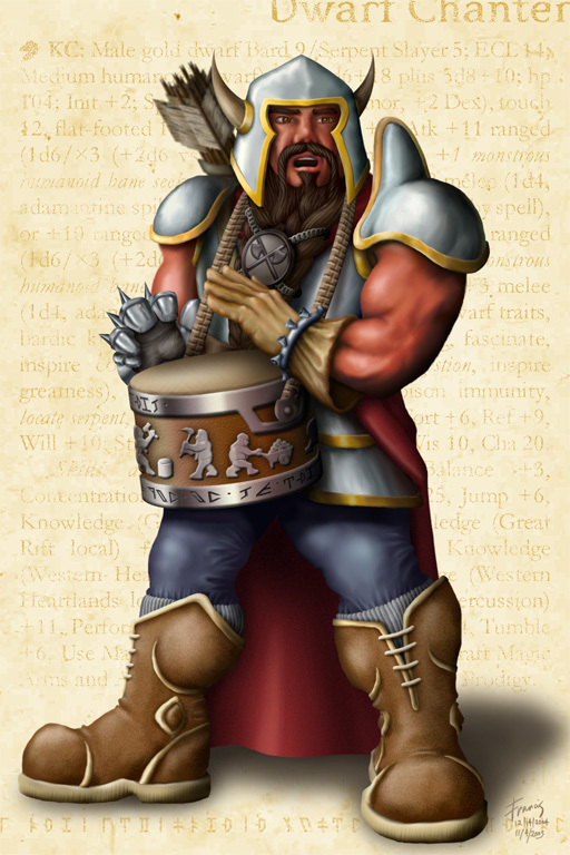 Kendor, Dwarf Chanter