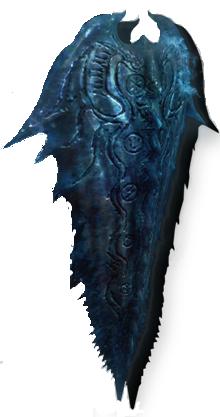 Blue Scale Shield