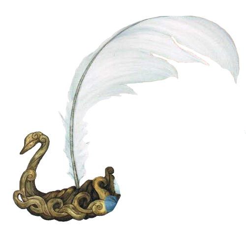 Quaal's Feather Token – Swan Boat