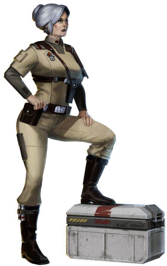 Admiral Tyria Garza