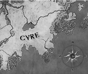 Gammelt kort over Cyre (Sharn)