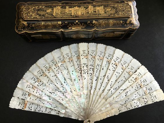 Mother of Pearl Hand Fan