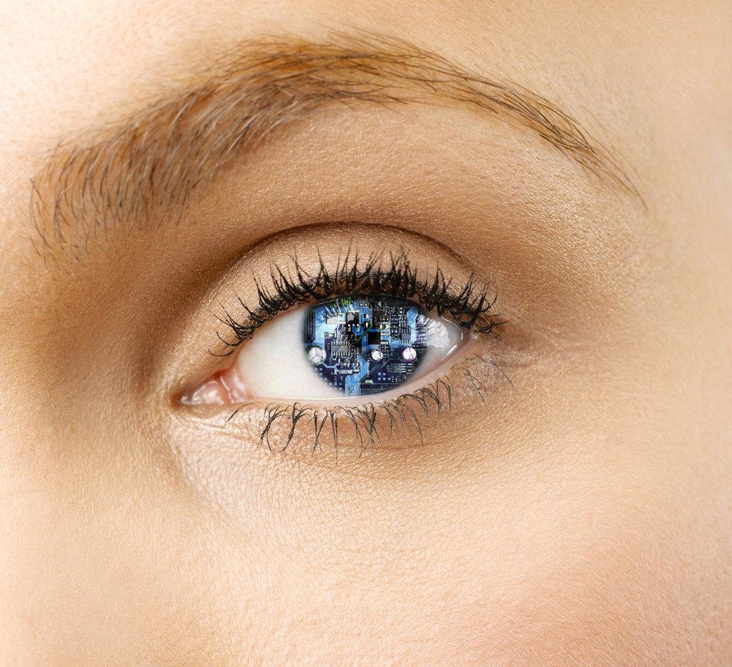 Eye Lens Computer