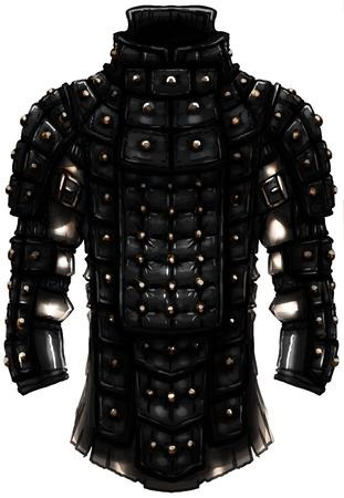Glamoured Studded Leather