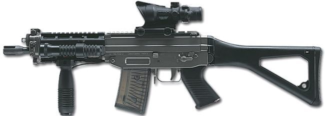 SIG SG 551-SWAT