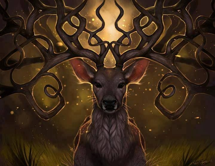 Ulieth, Whose Antlers Shake the Trees