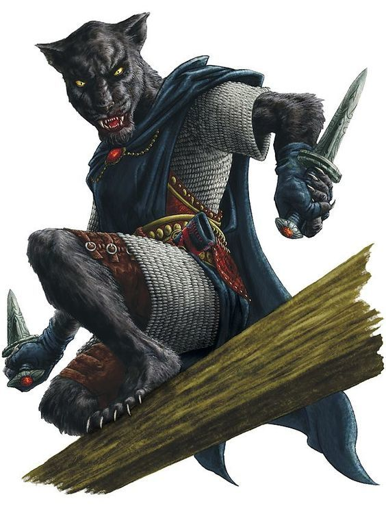 Desharr of the Prowling Panther Clan