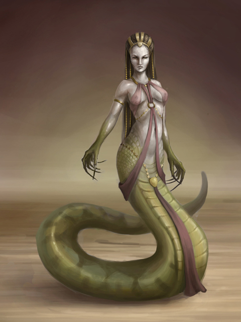 The Snake Mother