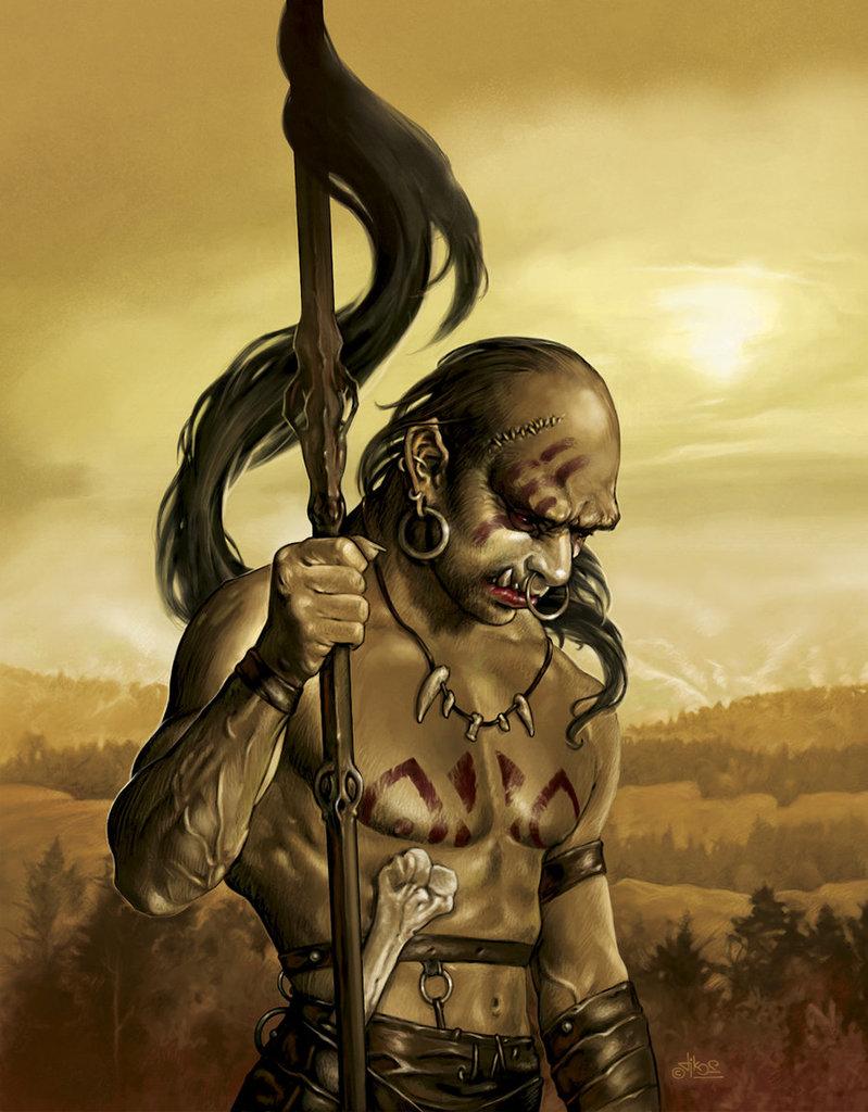 Czaszkowe Wilki - plemię orkowych nomadów grabieżców