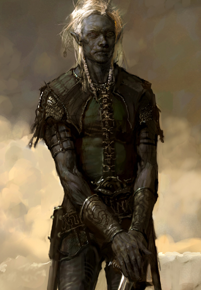 Kolath Drow Mage father of Lilia