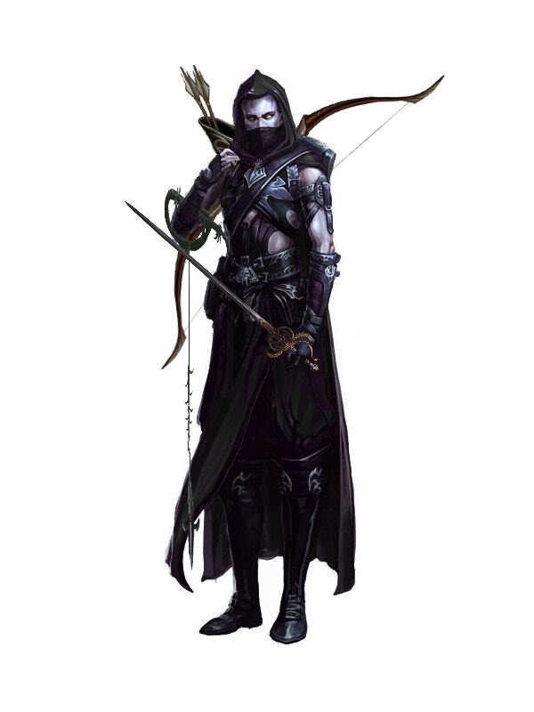 Rhaenik, Drow Ranger