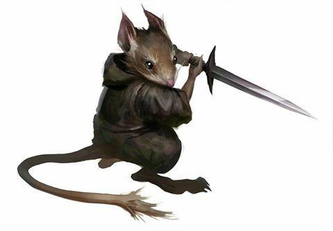 Zrerkah, Ratfolk Rogue