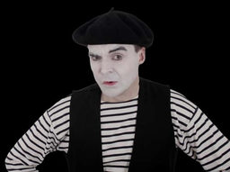 A Mysterious Mime!