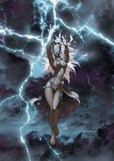 "Aurora "" She who brings Thunder"""