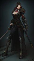 Lady-Captain Antigone