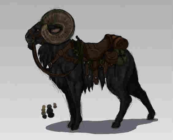 Mount - Giant Ram