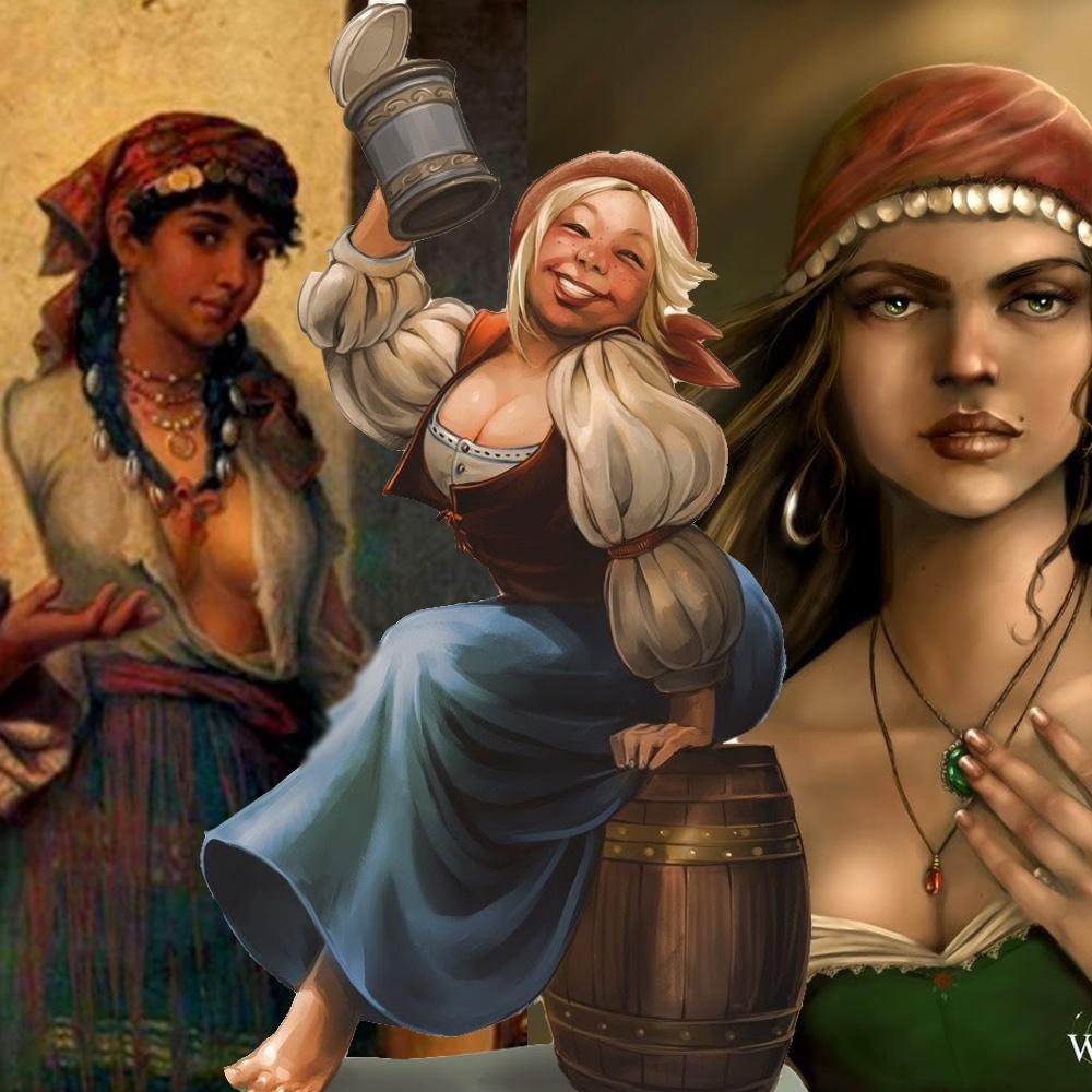 Alenka, Mirabel, and Sorvia