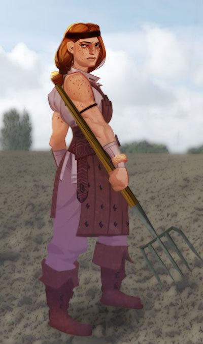 Mavis the Pig Farmer
