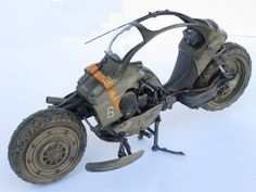 Jackrabbit Military Motorcycle
